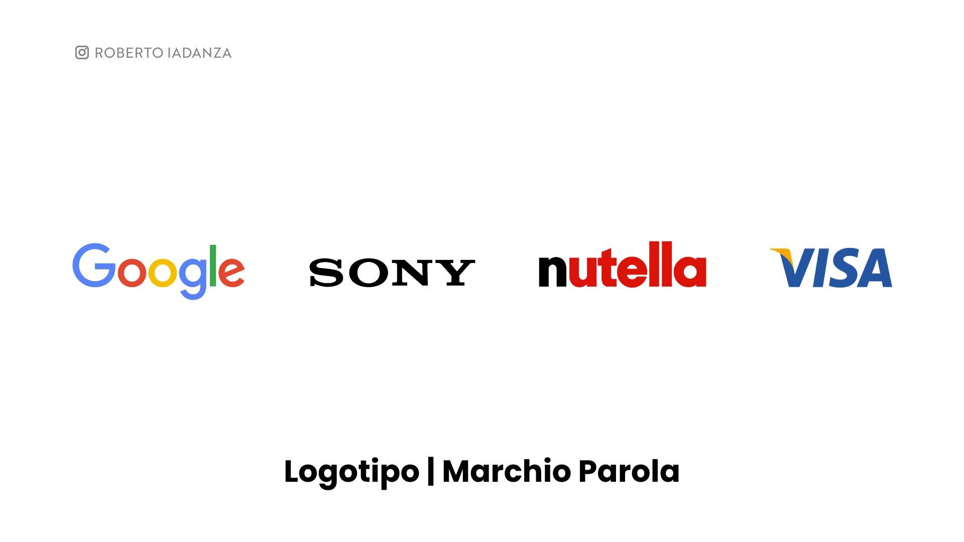Logotipo Marchio Parola